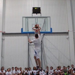 Dunking Basketball
